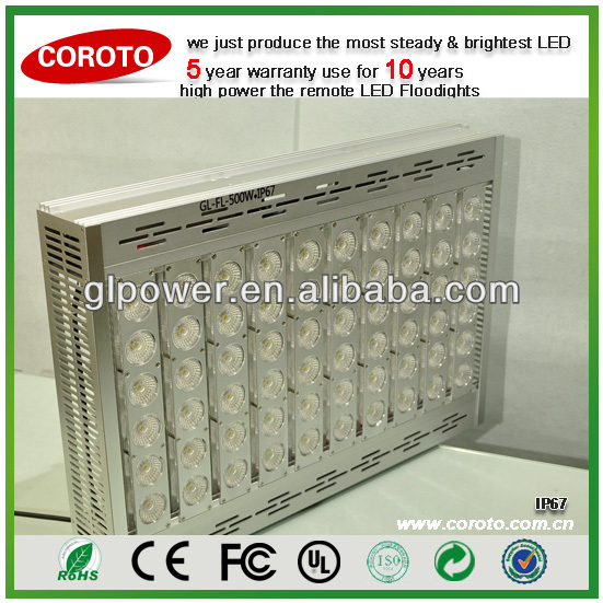 500W outdoor LED Flood Light dramatically reduce your power bill by 50%