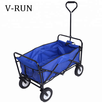 garden folding wagon camping Outdoor beach kids foldable utility trolley cart