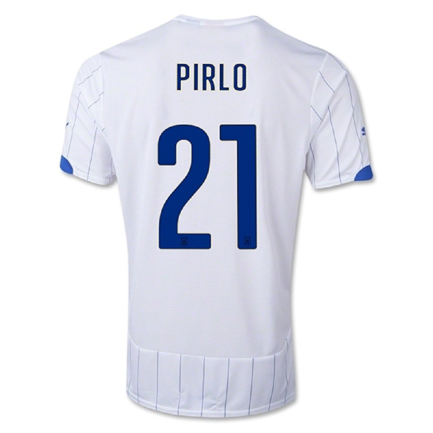9b1e11bf8 Get Quotations · Puma Pirlo  21 Italy Away Jersey World Cup 2014 (Youth)
