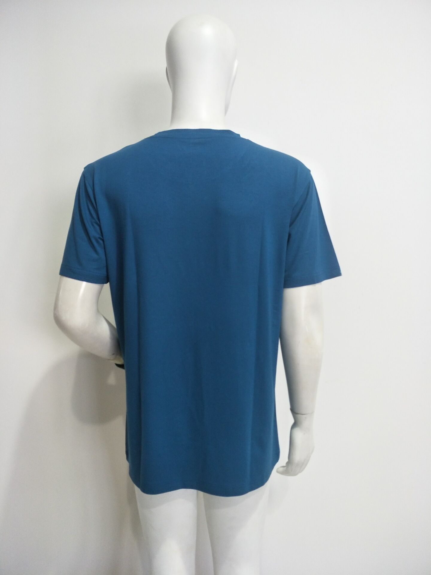 Oem shirt bamboo multi color men 39 s plain round neck bamboo for Bamboo t shirt printing