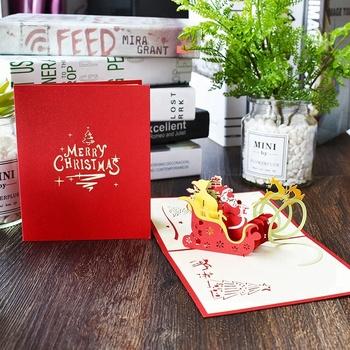 Precio Competitivo Cualquier Forma Personalizada Invitación De Boda 3d Tarjeta De Felicitación De Navidad Buy Tarjetas De Navidad 3d Tarjetas De