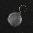 Custom Blank Transparent Can Insert Pictures Acrylic KeyChain