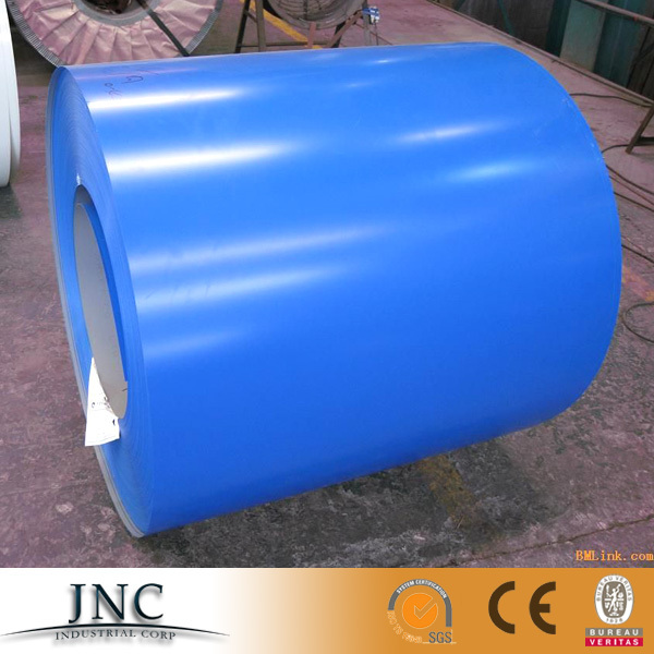 Low price DX51D 600-1250mm width prepainted galvanized steel /ppgi prime steel coil RAL 3015 RAL 7016