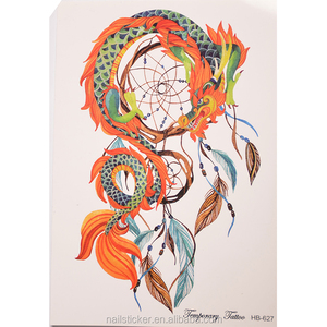 New arrival indians dream catcher tattoo decals