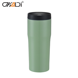 Kuangdi manufacturer 18/8 stainless steel wine coffee cups thermos vacuum mug