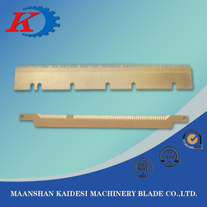 Saw Blade for candy packaging