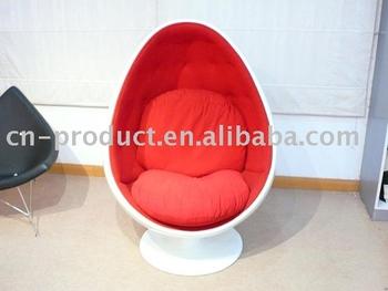 Bola huevo fibra de vidrio silla buy product on for Silla huevo precio