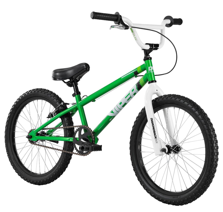 Diamondback Bicycles 2014 Viper Junior BMX Bike (20-Inch Wheels), One Size, Green