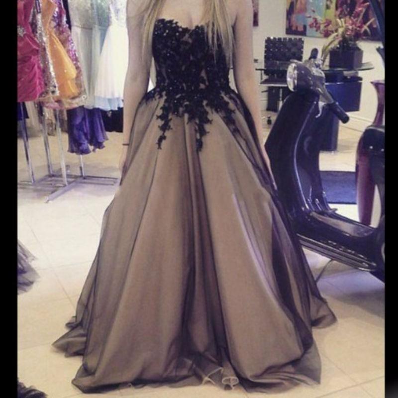 Vintage Lace Gothic Plus Size Evening Dress With Cloak A: Popular Alternative Formal Dress-Buy Cheap Alternative