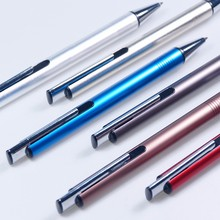 Wholesale metal ball pen with logo laser for company brand or personalized name engraved