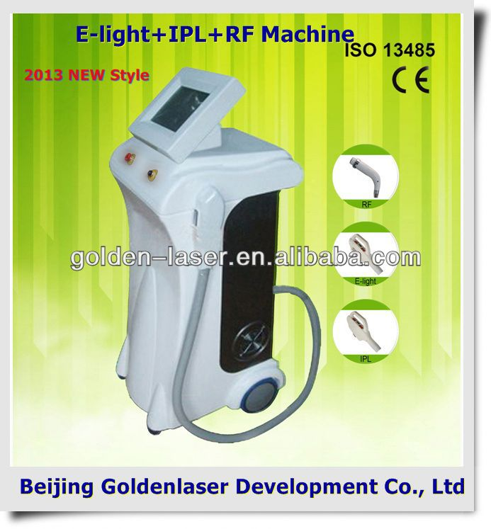 2013 Exporter E-light+IPL+RF machine elite epilation machine weight loss 2013 wrinkle release