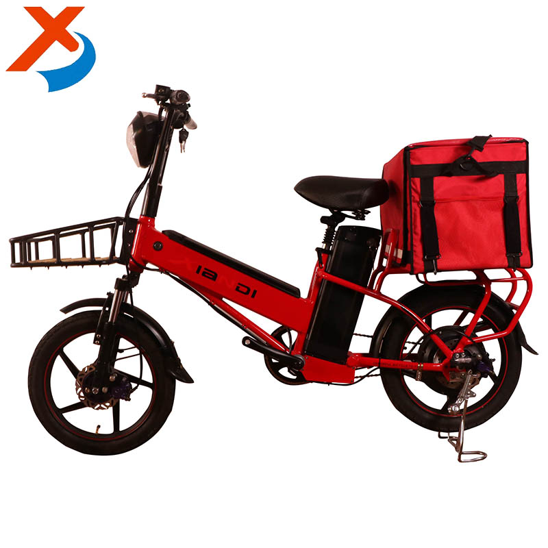 18'' 48v 500w manufacturers direct sales of double lithium battery high power take-out electric bike