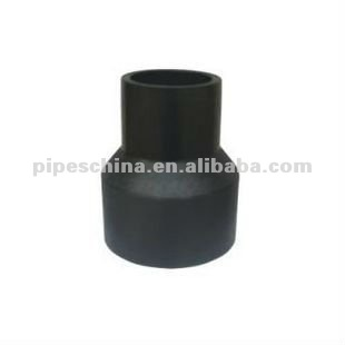 pipe fitting hdpe reducing coupler