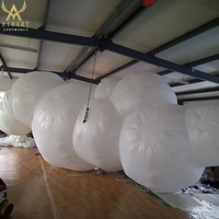 Lighting decoration cloud decoration inflatable cloud for party