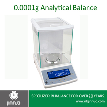 jinnuo 180g 0.0001g RS232 high precision weighing electronic analytical balance