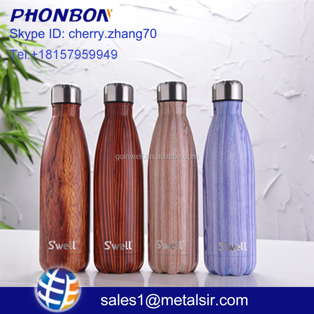 private label perfume bottles stainless steel water bottle Insulated 17 oz Cola Bottle