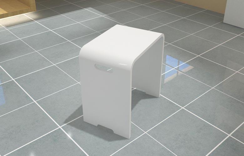 Kc 03 bagno di lusso sedia resina disabilitare sedile per doccia