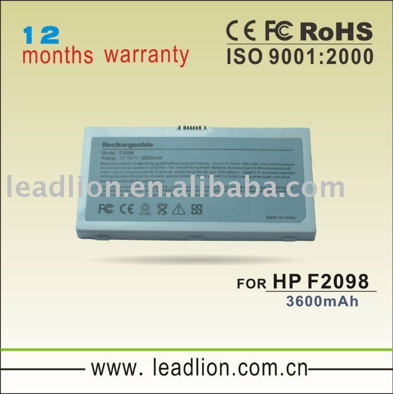 HOT SALES Laptop battery for HP 2098