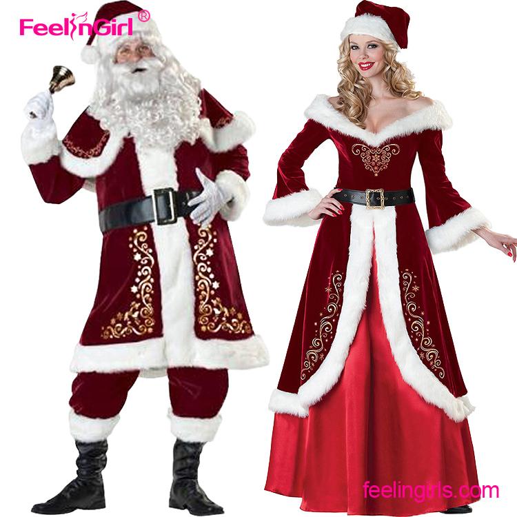 wholesale cheap weihnachten kost m f r erwachsene santa. Black Bedroom Furniture Sets. Home Design Ideas