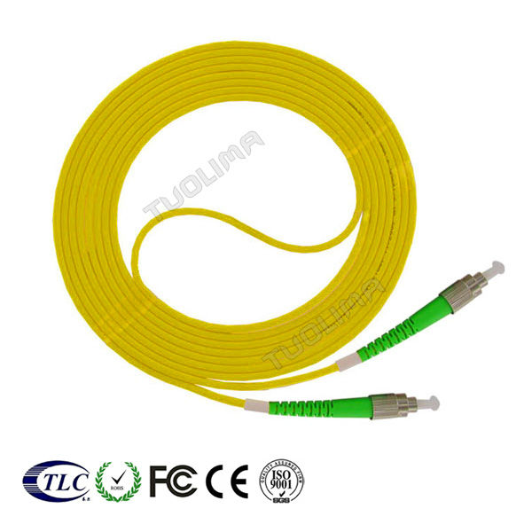 Telecom SC FC LC ST APC/UPC sm/mm fiber optic 0.9 or 2.0 or 3.0mm patch cord