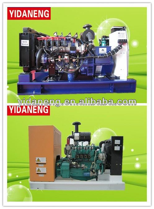 soundproof Natural gas generator 5kva electrical power electrical brushless