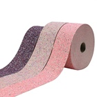 "Liston 3"" 75mm Shiny Vinyl Ribbons Bow Glitter Fabric And Leather Ribbon With Sequin"