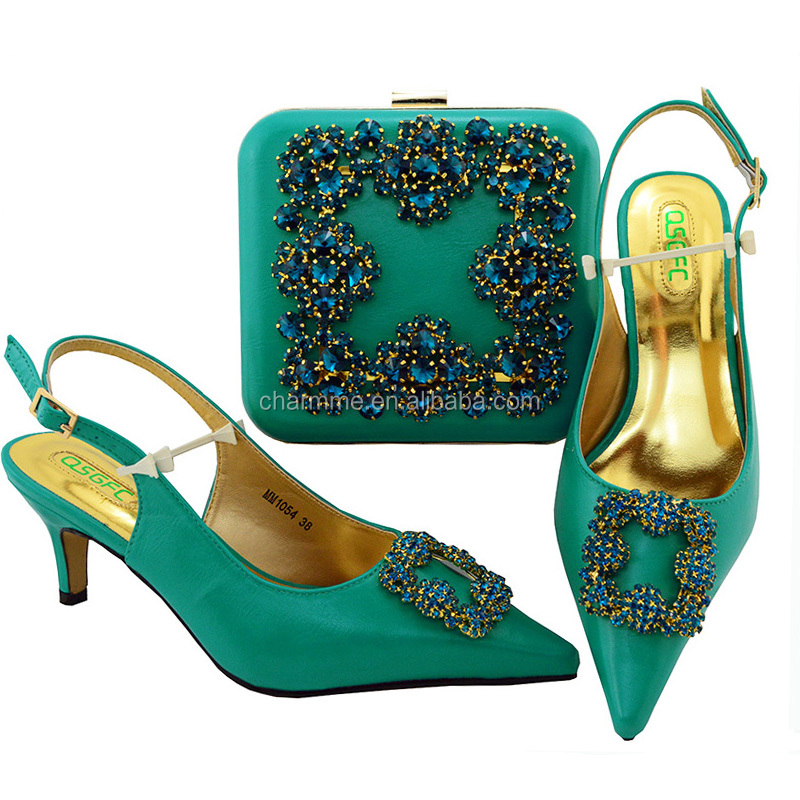 shoes shoes wedding and bags and quality Italian with bags stones low for Good heel EzwOvqWE
