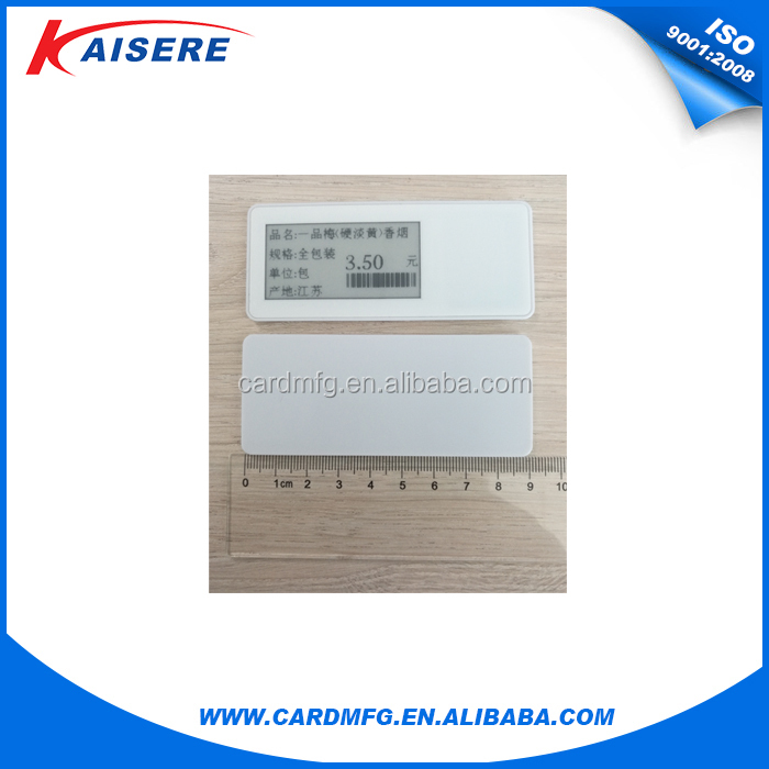 RFID esl electronic price tag for store