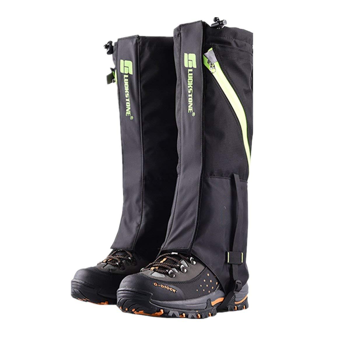 Tuban Hiking Gaiters Snow Gaiters Waterproof Boot Gaiters Reinforced TPU Strap Breathable Nylon