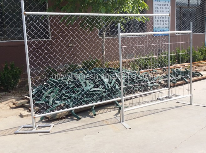 hot dipped galvanized temporary fencing export to Australia temporary fence