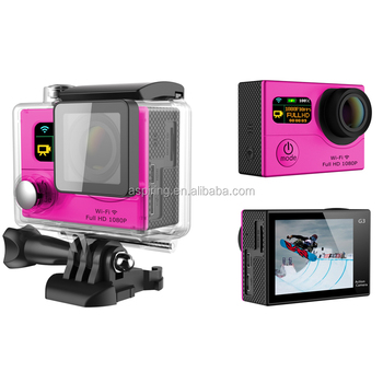 User-Friendly UI same as Gopro Hero3+ More easy to use sport camera with watch remote