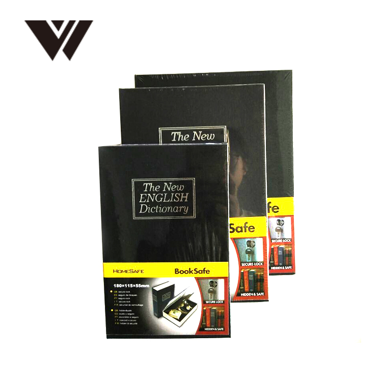 New 3 Digit Combination metal Book Safe Box hidden security
