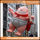 Advertising customized inflatable captain underpants cartoon model