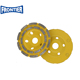 double row diamond grinding cup wheel