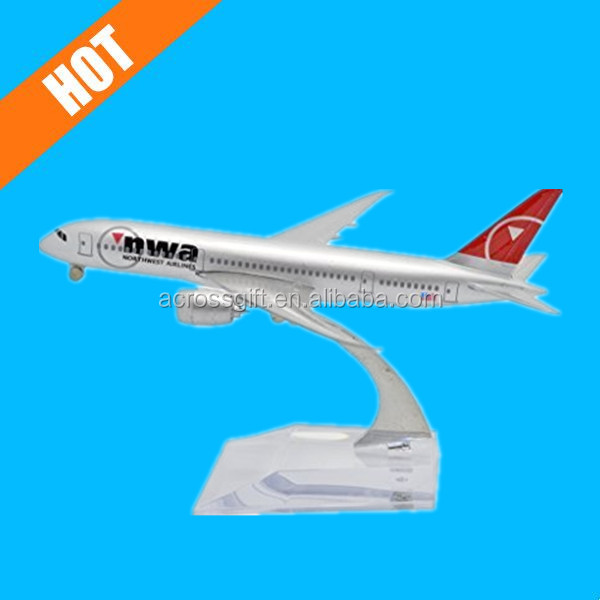 1:400 16cm Boeing B787 Northwest Airlines Metal resin airplane model