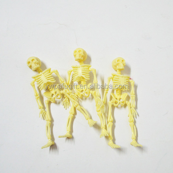 piastic mini skeleton halloween decoration