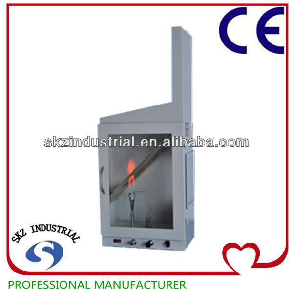 High Quality Fabric Vertical horizontal flame test chamber
