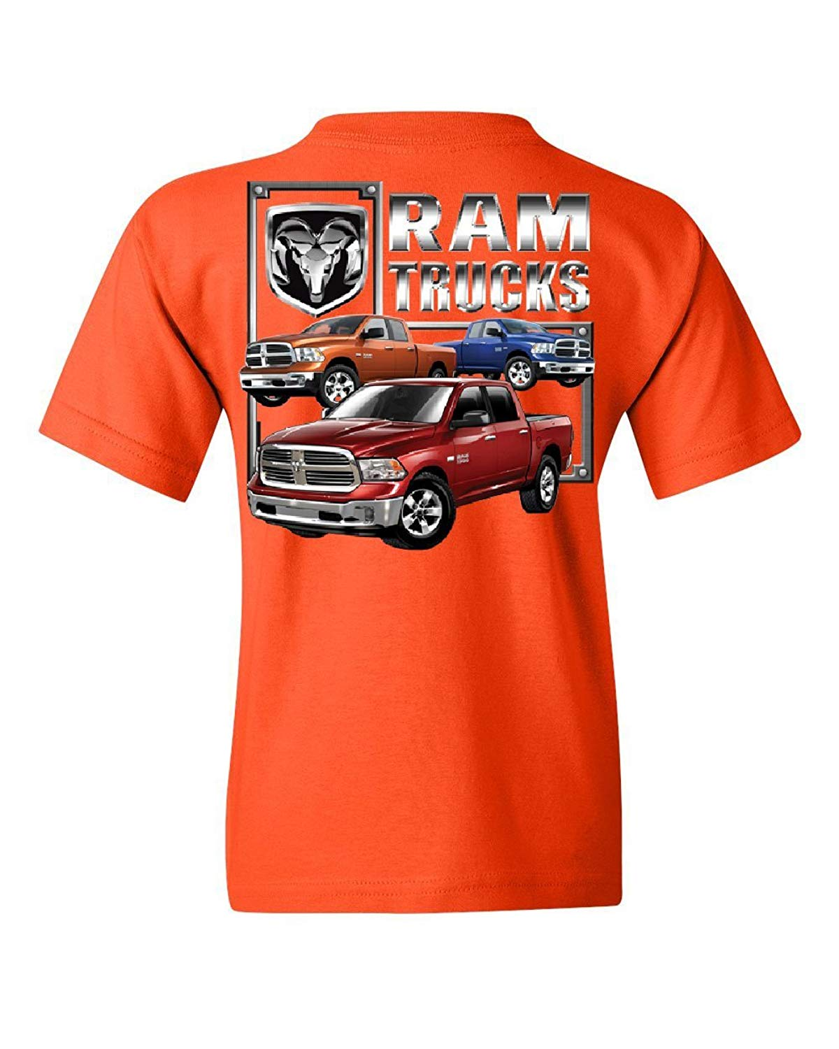 Dodge Ram Truck Youth T-Shirt Heavy Duty V8 Pickup Truck Kids Tee