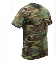 wholesale camo t shirts american military uniform gun training mens t shirts camouflage clothes dry fit camo shirt