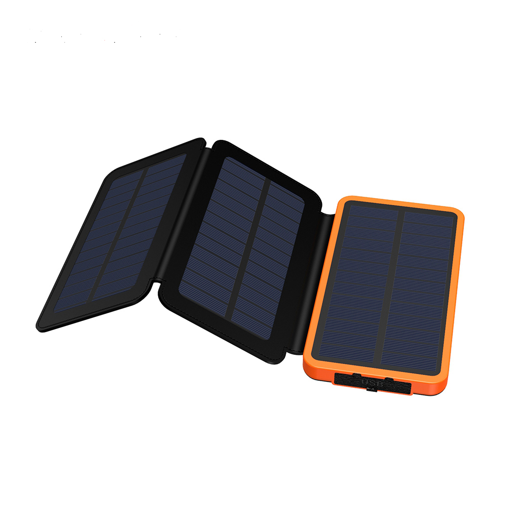 2020 portable mobile power bank solar charger 20000mah