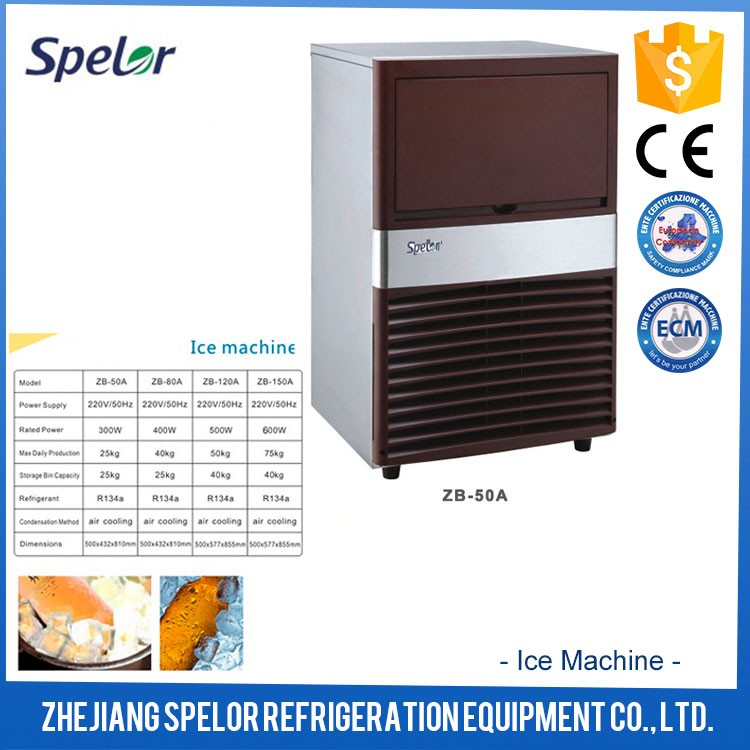 Hot selling CE approved R134a refrigerant italian ice machine