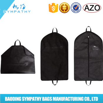Foldable custom wedding dress suit cover garment bag buy for Wedding dress garment bag for air travel