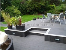 Cheap wood plastic composite decking, good price wpc floor, outdoor wpc deck