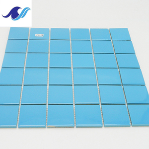 Easy install swimming pool grout tile 3d wall tile crystal ceramic mosaic