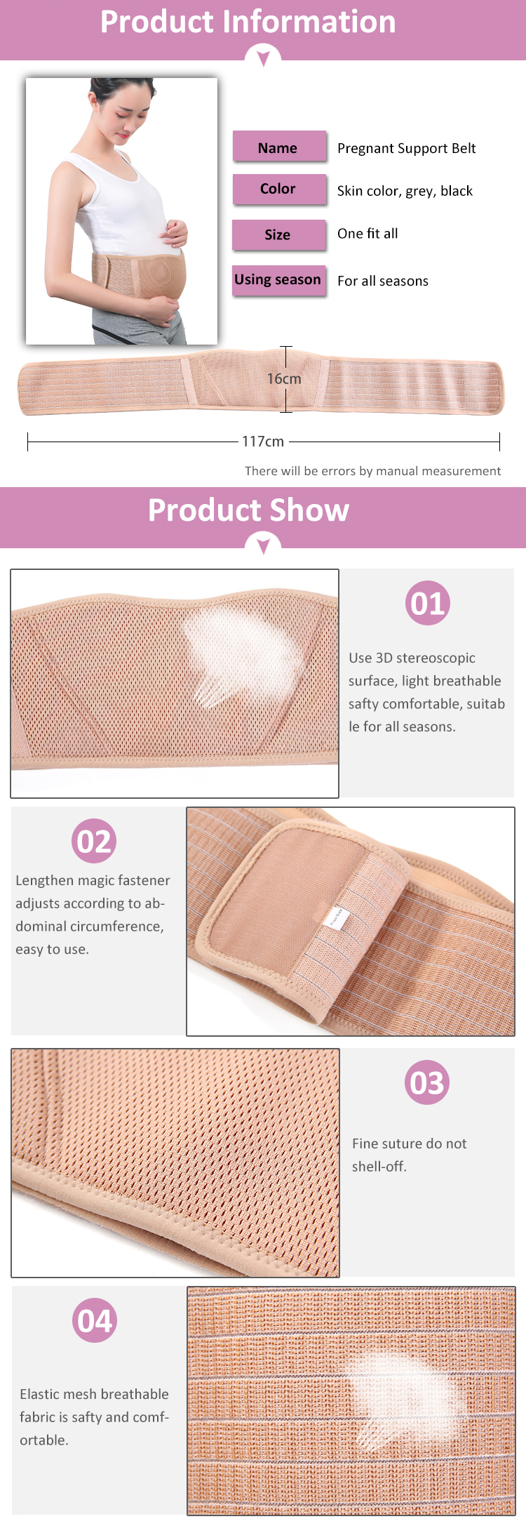 a39a2818cca ZHIZIN Amazon Best Seller Pregnant Maternity Clothing Fish Cloth Pregnant  Women Belt Belly Band with Private