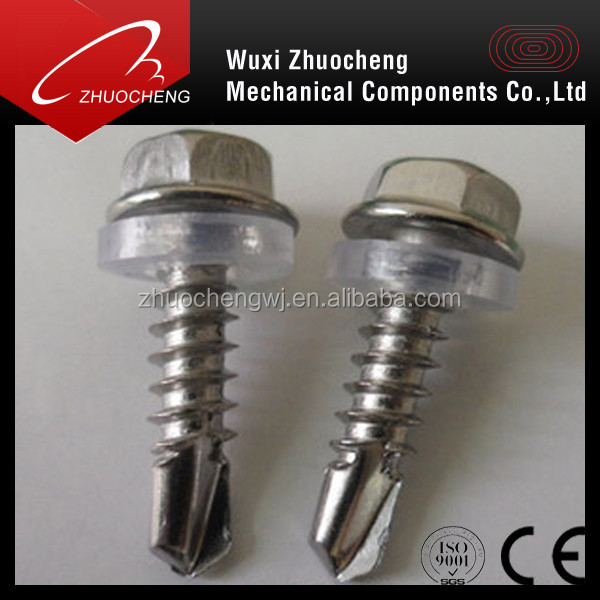 DIN7504k stainless steel 410 self tapping self drilling scews