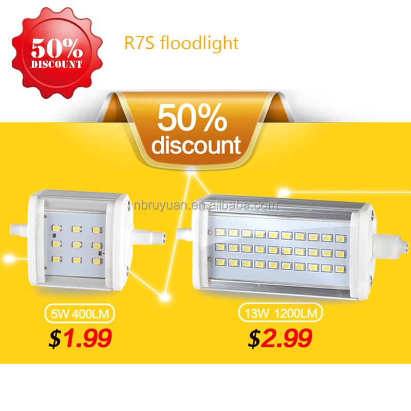 0422 high lumen r7s led 78mm 80mm bulbs lamp 4000lm 3000 lumen light 117mm 254mm lighting led r7s slim dimmable 118mm r7s led