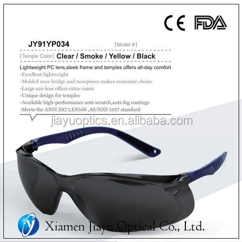 Lightweight PC lens anti-scratch anti-fog safety goggles