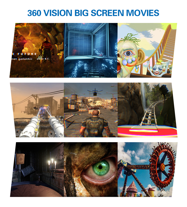 Cool design special effect available vr 360 future product