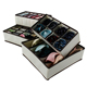 Household non woven home organizers acrylic sock divider storage boxes